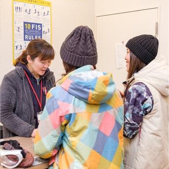 サッポロテイネスキー場【パートアルバイト】スクール受付大募集